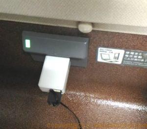 北陸新幹線の座席電源