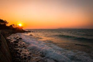 海サンセット