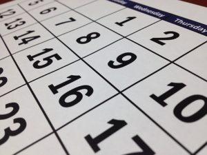 カレンダーtowweeks