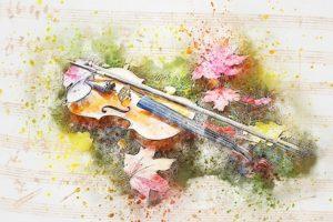 G線上のあなたと私バイオリン